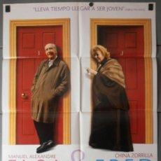 Cine: ELSA & FRED, CARTEL DE CINE ORIGINAL 70X100 APROX (8072). Lote 37262927