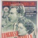 Cine: CONGRESO EN SEVILLA - POSTER ORIGINAL 70X100 - CARTEL CINE. Lote 37304281