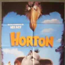 Cine: HORTON, CARTEL DE CINE ORIGINAL 70X100 APROX (8195). Lote 37318655