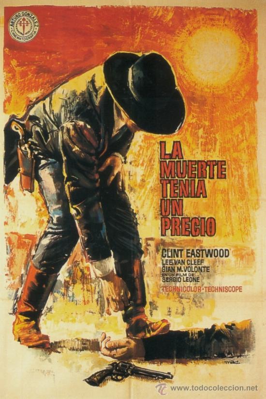 cuadro cartel western de cine la muerte tenia u - Comprar Carteles y ...