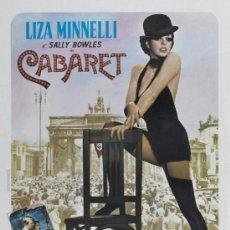 Cine: CUADRO CARTEL DE CINE. CABARET DE LIZA MINELLI. MURAL. EN MADERA DE 100X70 CM. . Lote 37366111