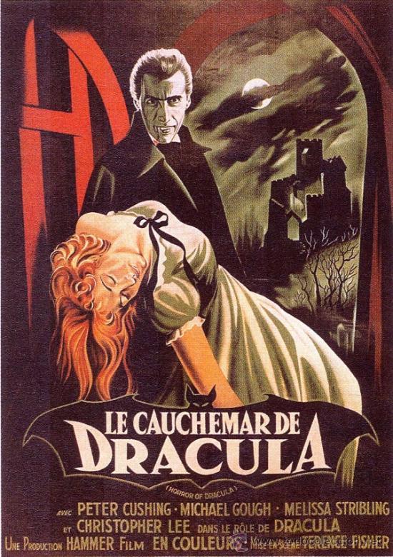 cuadro cartel de cine. dracula. en madera de 4 - Comprar Carteles y ...