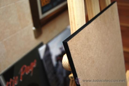 Cine: Cuadro Cartel de Cine. VACACIONES EN ROMA. AUDREY HEPBURN. En madera de 80X60 cm. - Foto 2 - 37366329