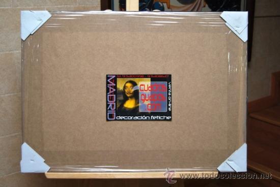 Cine: Cuadro Cartel de Cine. STAR WARS RECOPILATORIO. En madera. MURAL 100x70 cm. RARO - Foto 2 - 37363841
