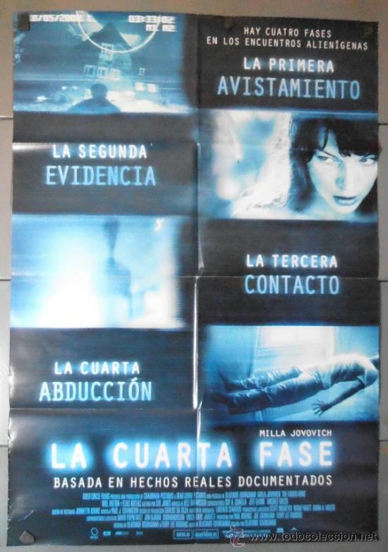 la cuarta fase, cartel de cine original 70x100 - Comprar Carteles y ...