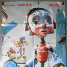 Cine: PINOCHO 3000, CARTEL DE CINE ORIGINAL 70X100 APROX (11037). Lote 37516671