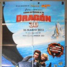Cine: DRAGON 3D, CARTEL DE CINE ORIGINAL 70X100 APROX (11102). Lote 37517096