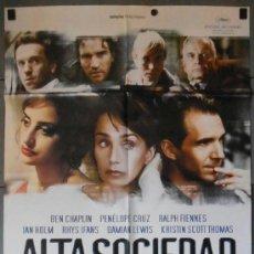 Cine: ALTA SOCIEDAD, CARTEL DE CINE ORIGINAL 70X100 APROX (11224). Lote 37521138