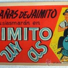 Cine: CARTEL CINE ARAJOL , JAIMITO ES UN AS ,TREN , ANTIGUO , LAS HAZAÑAS DE JAIMITO , ORIGINAL. Lote 37537597