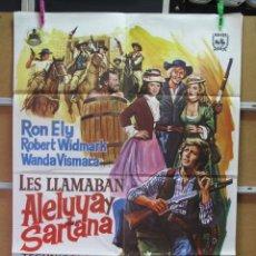 Cine: LES LLAMABAN ALELUYA Y SARTANA. Lote 37655697