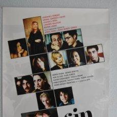 Cine: CARTEL DE CINE SIN VERGÜENZA // ORIGINAL 70X100. Lote 37625427