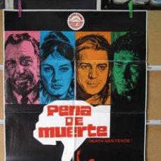 Cine: PENA DE MUERTE. Lote 37691557