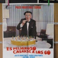 Cine: ES PELIGROSO CASARSE A LOS 60. Lote 37692165