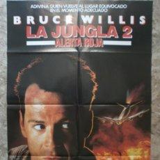 Cinema: LA JUNGLA 2. ALERTA ROJA. BRUCE WILLIS. AÑO 1990.. Lote 37725617