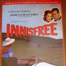 Cine: POSTER ORIGINAL ESPAÑOL - INNISFREE - JOSÉ LUIS GUERÍN - BARTLEY O'FEENEY, PADRAIG O'FEENEY. Lote 147820640