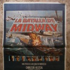 Cine: LA BATALLA DE MIDWAY. CHARLTON HESTON, HENRY FONDA. AÑO 1976.. Lote 37737296
