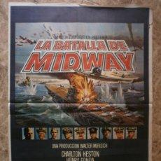 Cine: LA BATALLA DE MIDWAY. CHARLTON HESTON, HENRY FONDA. AÑO 1976.. Lote 37747710