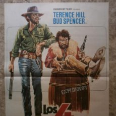 Cine: LOS 4 TRUHANES. TERENCE HILL, BUD SPENCER. AÑO 1978.. Lote 37759746