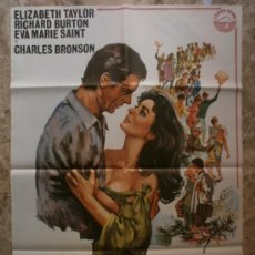 Cine: SONRISA AMARGA. ELIZABETH TAYLOR, RICHARD BURTON, EVA MARIE SAINT. AÑO 1977.. Lote 37760639
