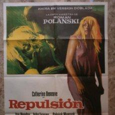 Cine: REPULSION - ROMAN POLANSKI - CATHERINE DENEUVE, IAN HENDRY, JOHN FRASER - AÑO 1974. Lote 42584499