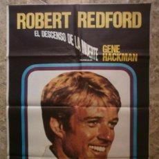 Cine: EL DESCENSO DE LA MUERTE. ROBERT REDFORD, GENE HACKMAN. . Lote 37760781
