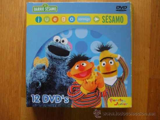 dvd juega conmigo sesamo