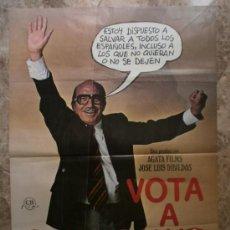 Cine: VOTA A GUNDISALVO. ANTONIO FERRANDIS, EMILIO GUTIERRES CABA, SILVIA TORTOSA. AÑO 1977.. Lote 37780449