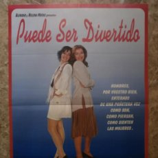 Cine: PUEDE SER DIVERTIDO. ANA TORRENT, TONI CANTO, MERCE PONS. . Lote 37825672