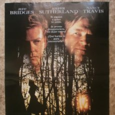Cine: SECUESTRADA. JEFF BRIDGES, KIEFER SUTHERLAND, NANCY TRAVIS. AÑO 1993.. Lote 37825893
