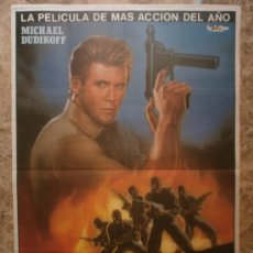 Cine: LA FUERZA DE LA VENGANZA - MICHAEL DUDIKOFF - AÑO 1987. Lote 96126563