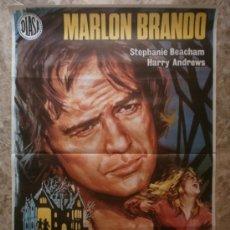 Cinema: LOS ULTIMOS JUEGOS PROHIBIDOS - MARLON BRANDO - AÑO 1973. Lote 60982621