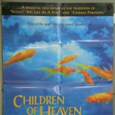 Cine - TK66 CHILDREN OF HEAVEN MAJID MAJIDI cine irani POSTER ORIGINAL 70X105 AMERICANO - 37828928