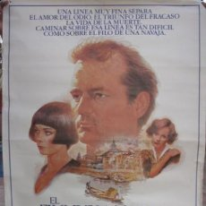Cine: EL FILO DE LA NAVAJA POSTER ORIGINAL 70X100 . Lote 37849245