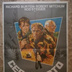 Cine: CERCO ROTO. RICHARD BURTON, ROBERT MITCHUM, ROD STEIGER. AÑO 1979.. Lote 37853998