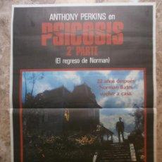 Cine: PSICOSIS 2. EL REGRESO DE NORMAN. ANTHONY PERKINS.. Lote 37855464