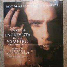 Cine: ENTREVISTA CON EL VAMPIRO - TOM CRUISE, BRAD PITT, STEPHEN REA, ANTONIO BANDERAS. AÑO 1994. Lote 86258290