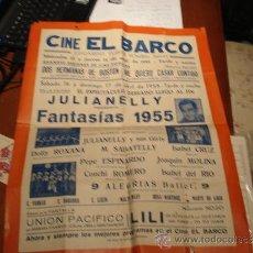 Cine: CARTEL CINE EL BARCO. Lote 37862170