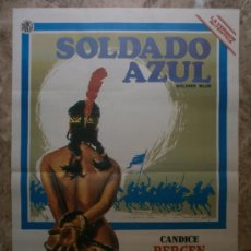 Cine: SOLDADO AZUL - CANDICE BERGEN, DONALD PLEASENCE, PETER STRAUSS. Lote 113230735