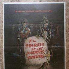 Cine: EL REGRESO DE LOS MUERTOS VIVIENTES. CLU GULAGER, JAMES KAREN, DON CALFA.. Lote 45194779
