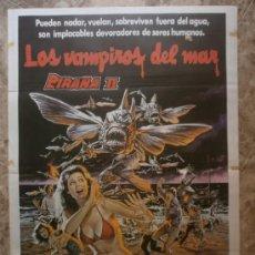 Cine: PIRAÑA II:LOS VAMPIROS DEL MAR. TRICIA O'NEIL, STEVE MARACHUK, LANCE HENRIKSEN. AÑO 1982.. Lote 37932298