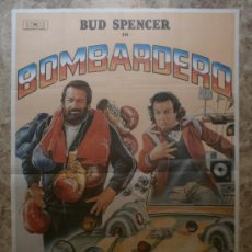 Cinema: BOMBARDERO. BUD SPENCER, JERRY CALA. AÑO 1982.. Lote 44864845