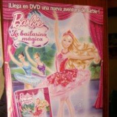Cine: *BARBIE EN LA BAILARINA MAGICA* - CARTEL POSTER ORIGINAL VIDEOCLUB 70 X 100 CM.. Lote 37965475