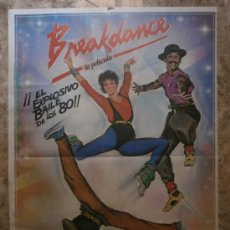 Cine: BREAKDANCE. LUCINDA DICKEY, BEN LOKEY, PHINEAS NEWBORN III. AÑO 1983.. Lote 38002346