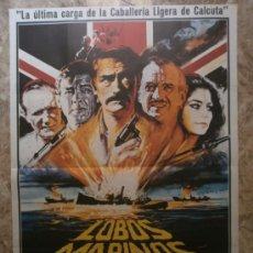 Cine: LOBOS MARINOS. GREGORY PECK, ROGER MOORE, DAVID NIVEN. AÑO 1980.. Lote 38004058