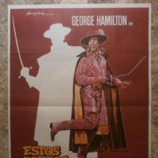 Cine: ESTOS ZORROS...LOCOS, LOCOS, LOCOS. GEORGE HAMILTON. AÑO 1982.. Lote 38006501