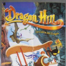 Cine: DRAGON HILL, CARTEL DE CINE ORIGINAL 70X100 APROX (9359). Lote 38038787