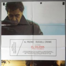 Cine: EL DILEMA, CARTEL DE CINE ORIGINAL 70X100 APROX (9387). Lote 38039080