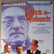 Cine: LA NOVIA DE MEDIANOCHE, CARTEL DE CINE ORIGINAL 70X100 APROX (9436). Lote 38039255