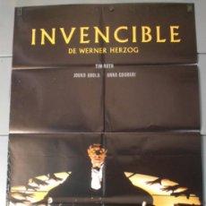 Cine: INVENCIBLE, CARTEL DE CINE ORIGINAL 70X100 APROX (9521). Lote 38050915