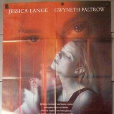 Cine: RELACION MORTAL,JESSICA LANGE CARTEL DE CINE ORIGINAL 70X100 APROX (9594). Lote 38052031